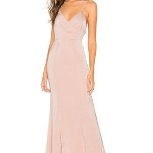 Lovers + Friends Vilailuck Gown in Blush